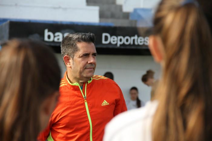 El seleccionador canario de la sub-18 masculina, Andrés Clavijo/ftf.es