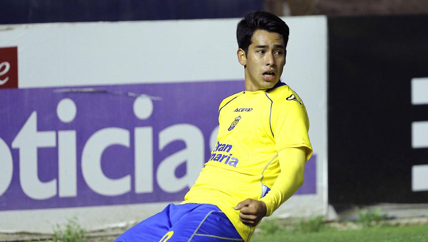 El jugador argentino no ha sido apartado de la disciplina del club / ud las palmas.net