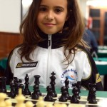 Imagen de archivo de Adhara Rodríguez, campeona insular del sub-12 femenino. / DA