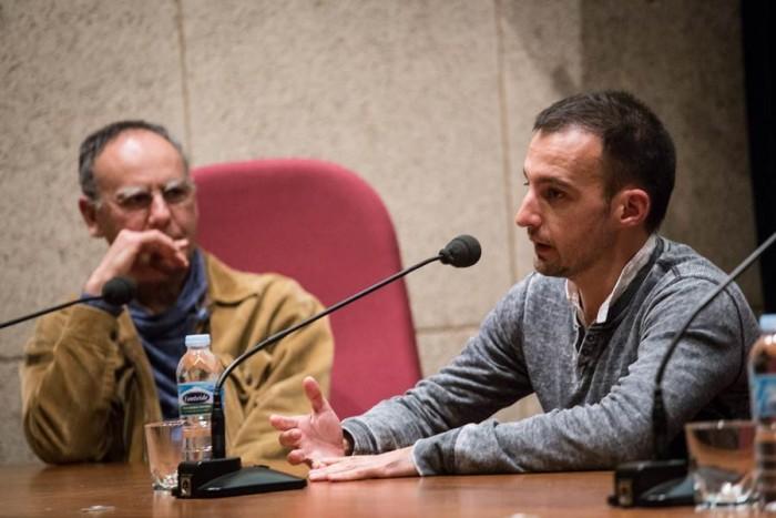 El realizador Alejandro Amenábar, anoche, en el Museo de la Ciencia y el Cosmos. | ANDRÉS GUTIÉRREZ