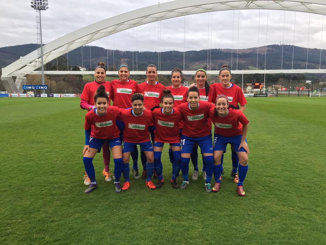 Formación del equipo tinerfeño en Lezama ante el Athletic /DA