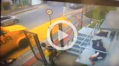 """Dos agentes de seguridad """"resucitan"""" tras recibir varios disparos"""