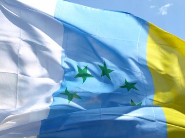 Bandera estrellada canaria. | DA