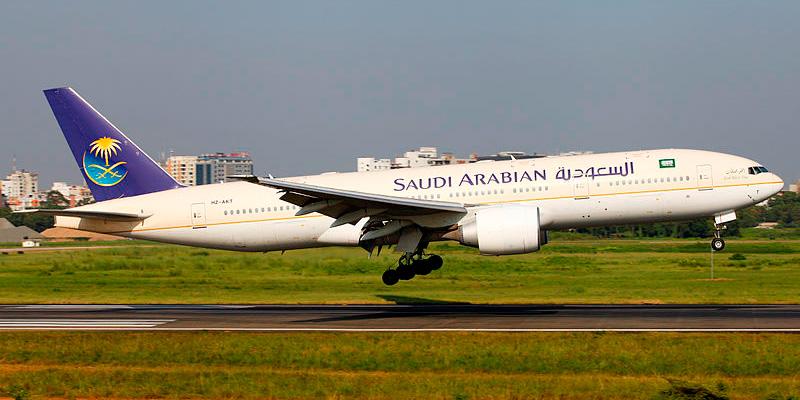 Boeing 777-268 Saudi Arabian