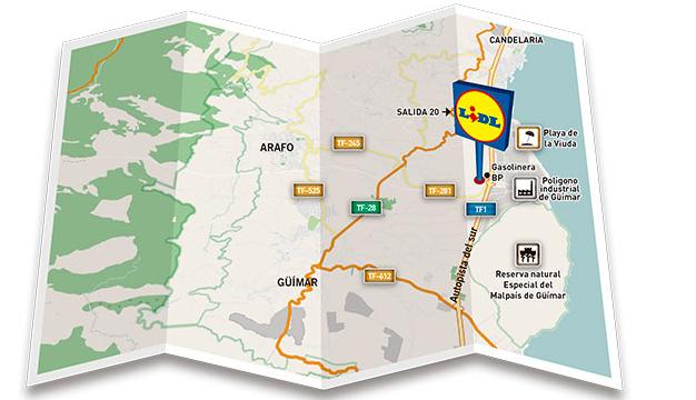 Lidl abrirá un supermercado en Arafo