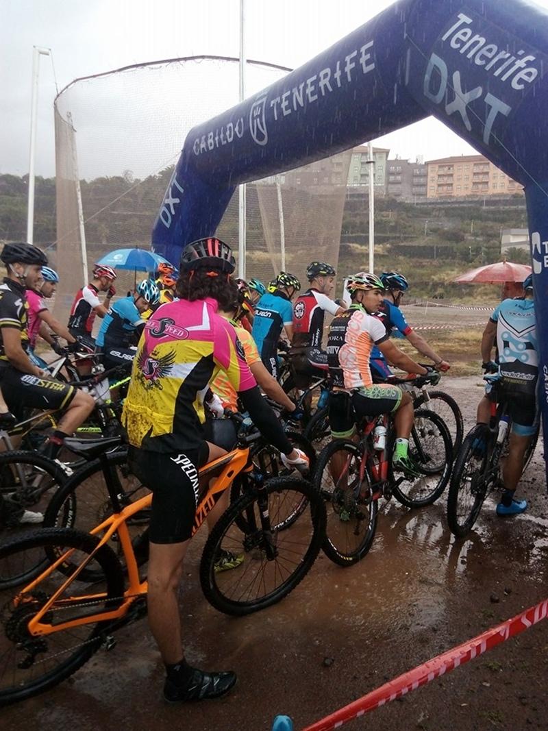 Ciclismo MTB barranco de San Felipe