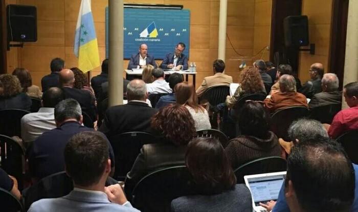 Consejo Político Nacional de Coalición Canaria (CC), celebrado en Gran Canaria el pasado sábado. | DA