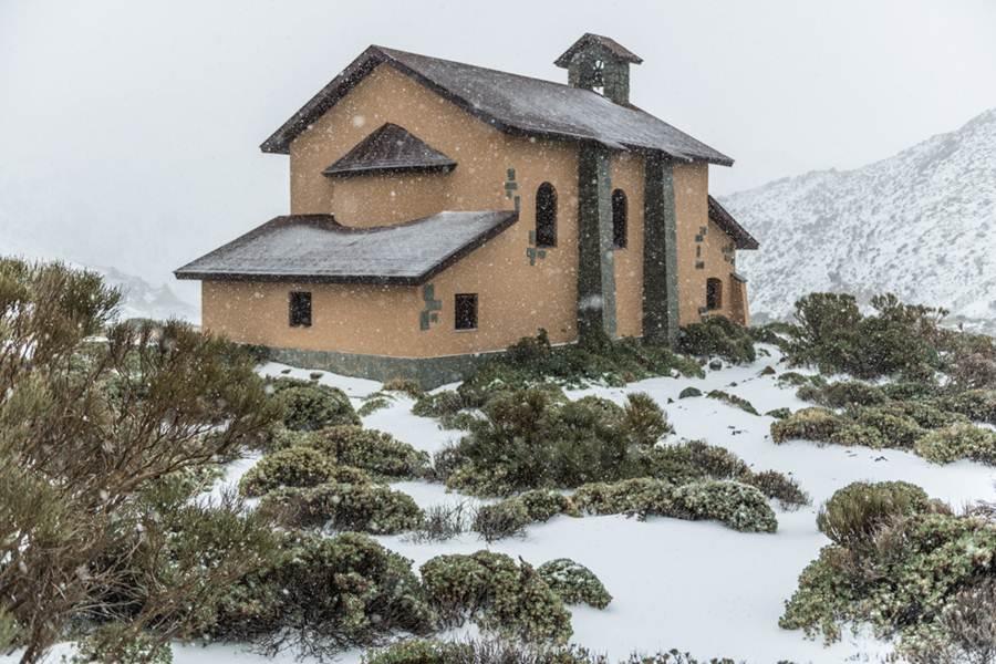 Imágenes de Las Cañadas del Teide nevadas. | RENATO SENSÍBILE