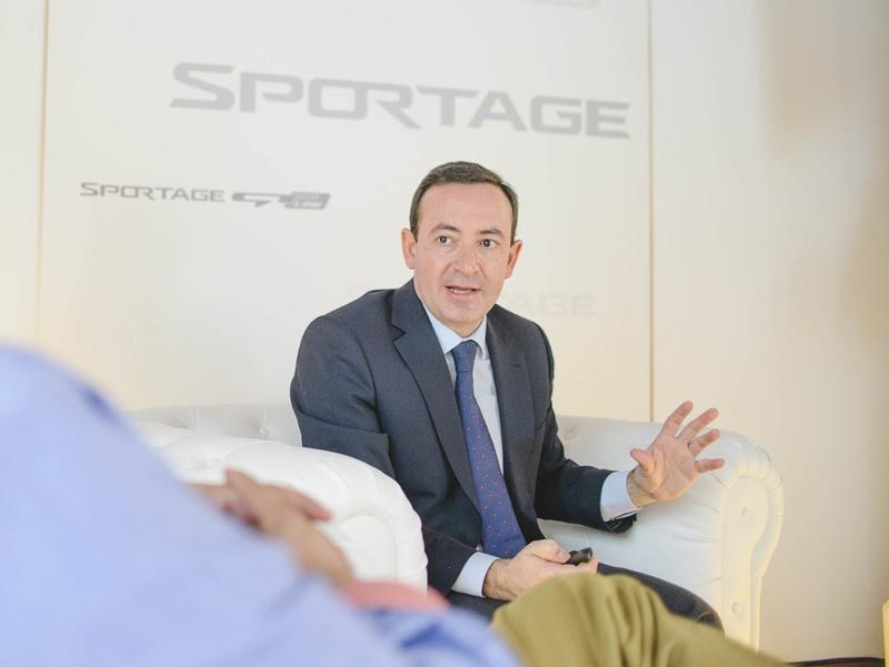 Eduardo Zavala Kia Sportage presentacion