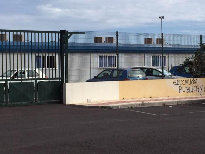El IES de Guaza se inauguró con carácter temporal en septiembre de 2002 y hoy sigue funcionando. | DA