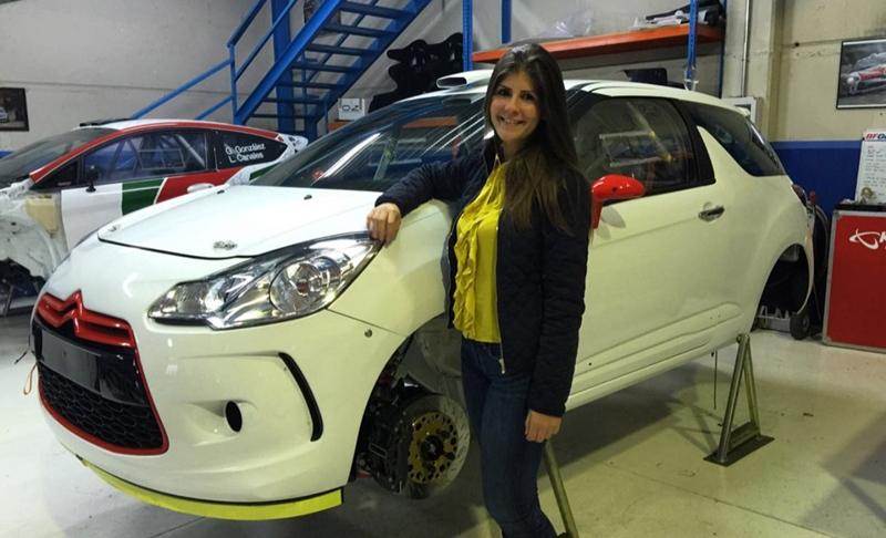 Emma Falcón Citroën DS3 R3T
