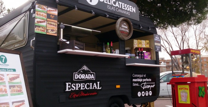 Las papas con mojo de Canarias estarán presentes en la I Expo Food Trucks