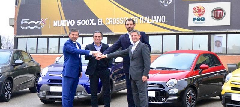 FIAT se convierte de nuevo en patrocinador oficial de la Selección Española de Baloncesto