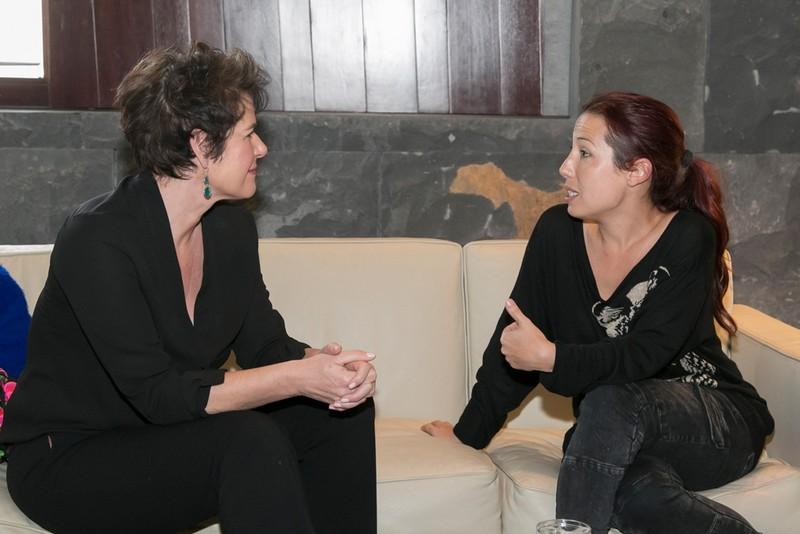 Francesca Friz-Prguda y Patricia Hdez