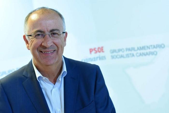 Francisco Hernández Spínola, diputado del PSOE en las Cortes Generales por la provincia de Santa Cruz de Tenerife. / SERGIO MÉNDEZ