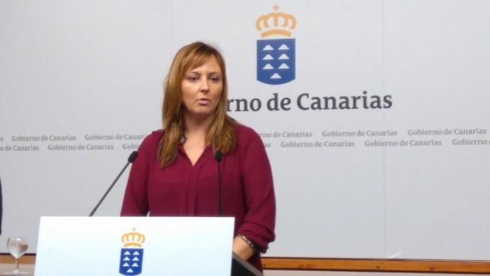 Nieves Lady Barreto, consejera de Política Territorial, Sostenibilidad y Seguridad del Gobierno canario.  / DA