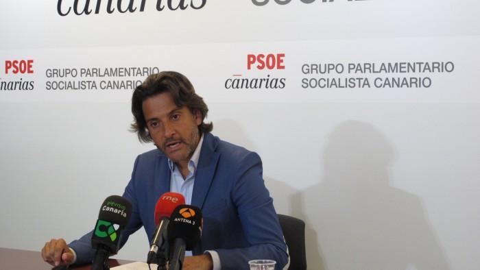 Gustavo Matos, diputado del PSOE en el Parlamento de Canarias. / DA
