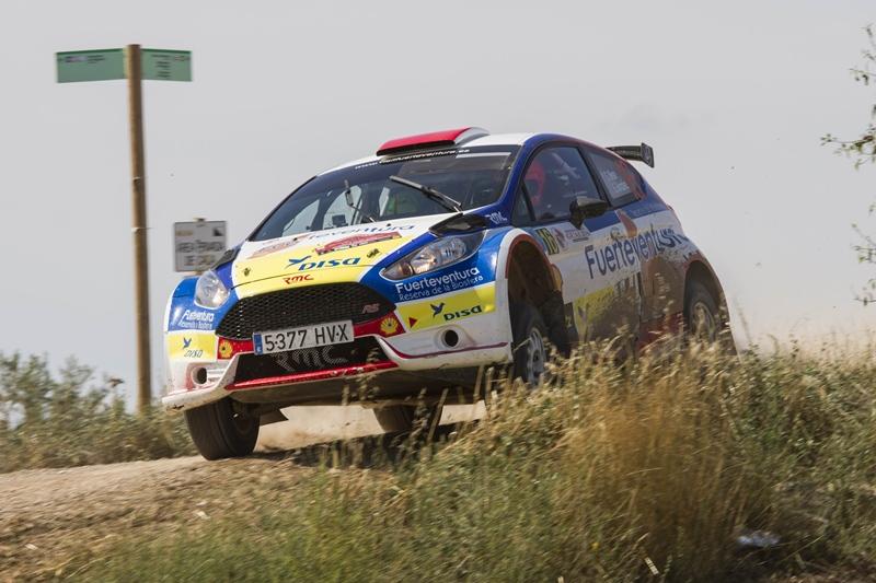 Gustavo Sosa Rogelio Peñate Ford Fiesta R5