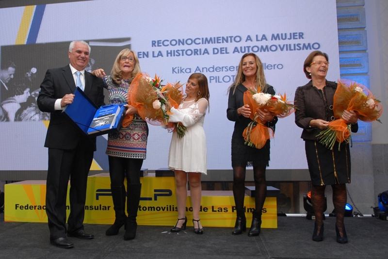 Homenaje mujeres Las Palmas
