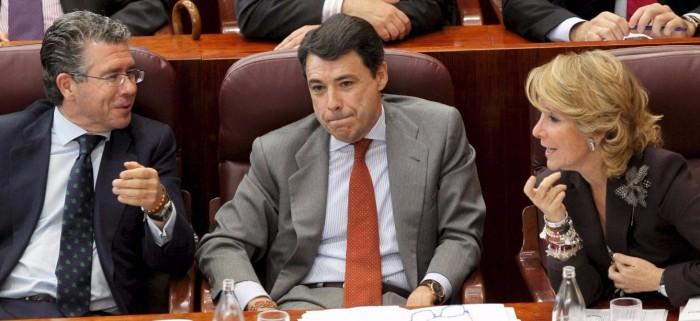 Granados, González y Aguirre. / EFE
