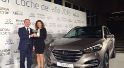 """El Hyundai Tucson recibe el Premio """"Mejor Coche del Año 2016"""""""