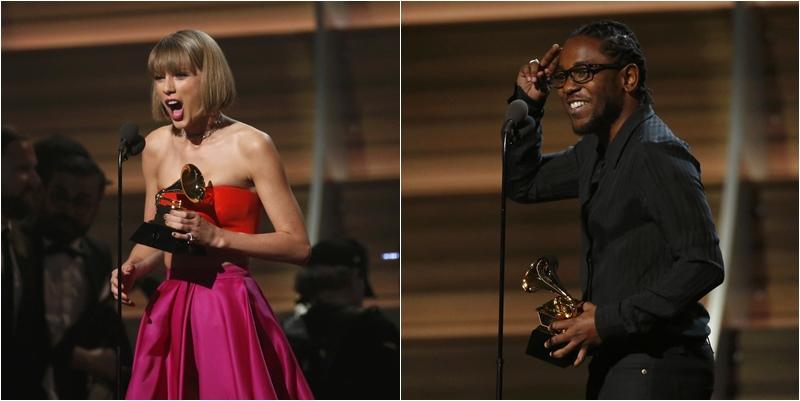 Kendrick Lamar y Taylor Swift