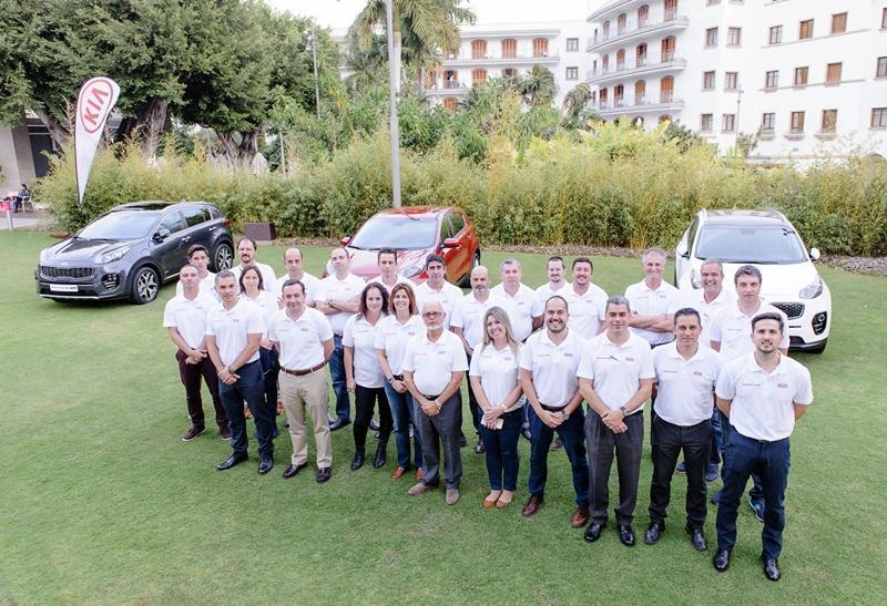 Kia Canarias convención anual 2