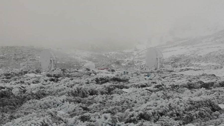 El Roque de Los Muchachos este sábado, 20 de febrero. | Telescopio Nacional Galileo