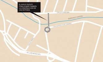 Finca España pide un puente entre las vías Córdoba y Pico Cho Canino
