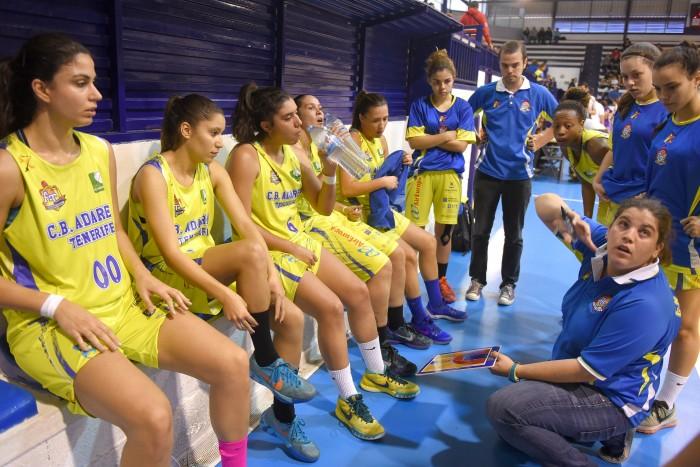 20-12-2015 la laguna Derbi femenino baloncesto Clarinos-Adavera