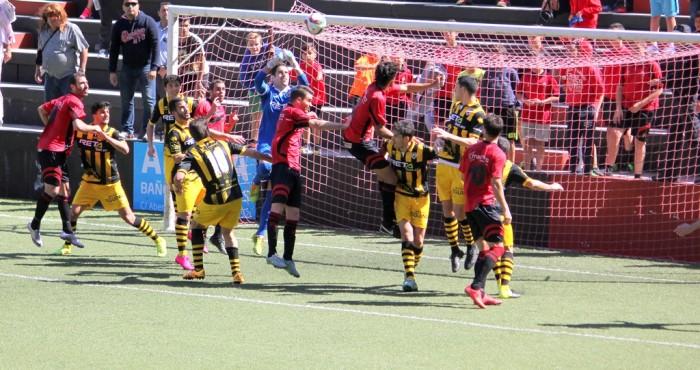 Los jugadores vascos se impusieron por 0-1 al conjunto mensajerista. / iván rodríguez