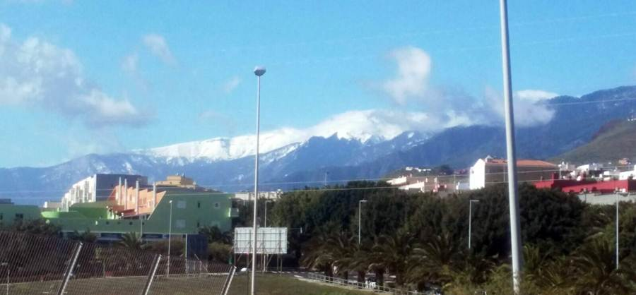 Montañas de Güímar desde Tíncer