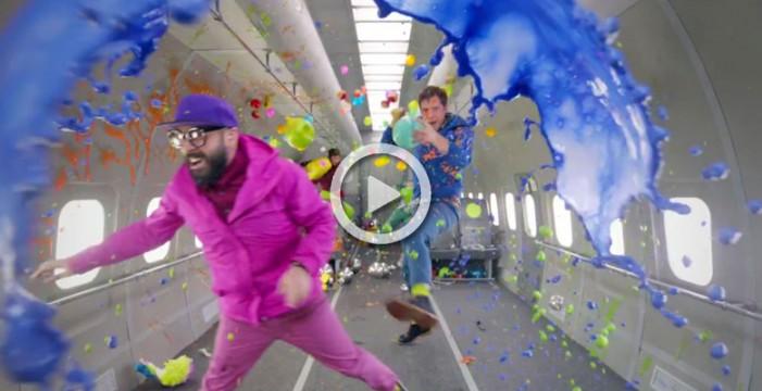 El espectacular videoclip de OK Go del que todos hablan