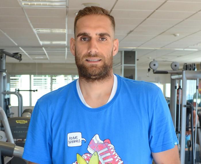 Óliver Arteaga defiende actualmente la camiseta del Planasa Navarra  SERGIO MÉNDEZ