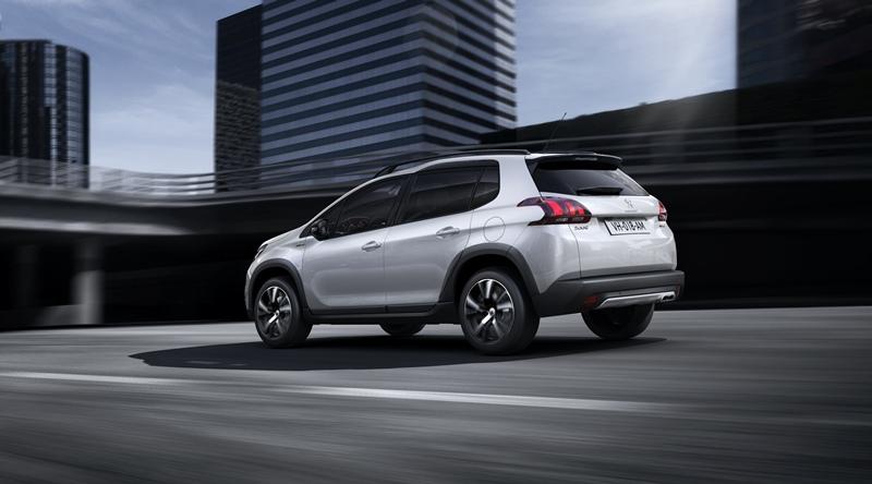 El Peugeot 2008 se viste con un poderoso y atractivo diseño SUV. |DA
