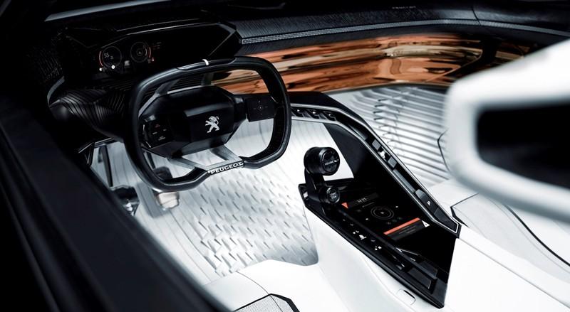 PEUGEOT FRACTAL Peugeot i-Cockpit