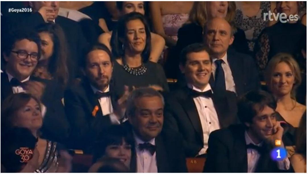 Pablo Iglesias y Albert Rivera. / DA