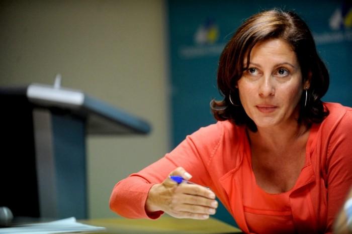 Claudina Morales fue presidenta de Coalición Canaria. / FRAN PALLERO