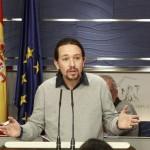 Iglesias durante la rueda de prensa. | EP