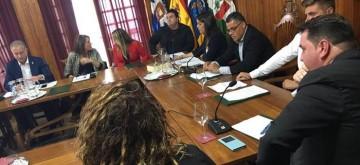 Haroldo Martín jura su cargo como alcalde de La Victoria