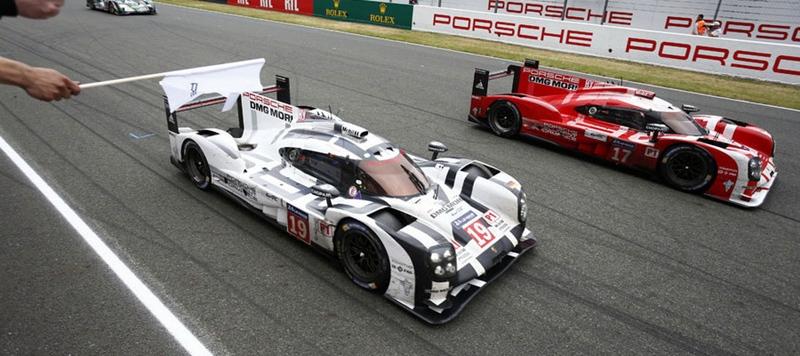 Porsche 919 Hybrid 24 horas Le Mans