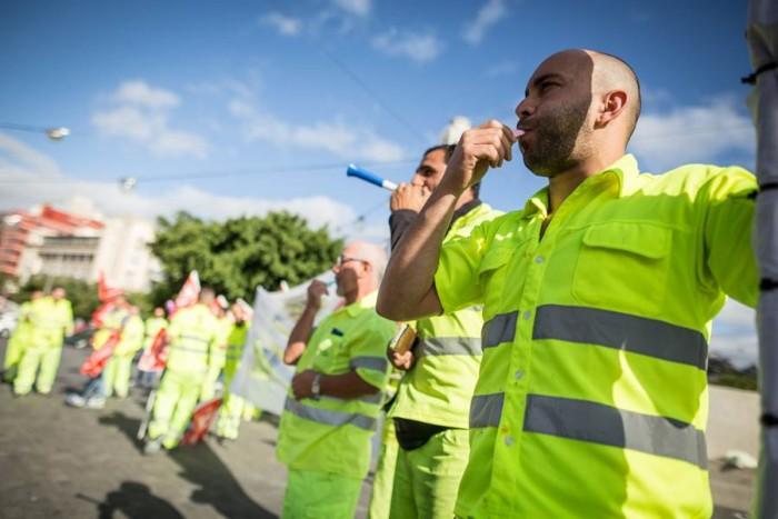 Protesta de la plantilla de Villar por el ERE en la empresa. | A. G.