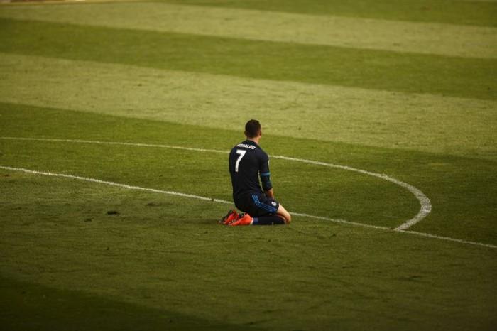 Cristiano Ronaldo, cara y cruz: anotó el gol y falló un penalti. / EP