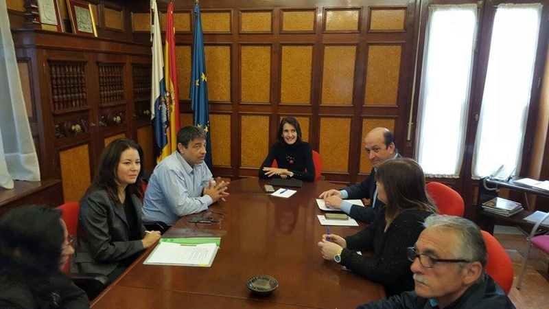 Reunion Gobierno de Canarias Federación de Lucha Canaria