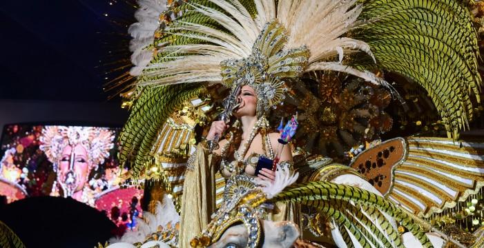 Cecilia Navarro, Reina del Carnaval 2016