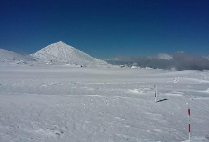 Imagen del Teide este domingo. | IZAÑA