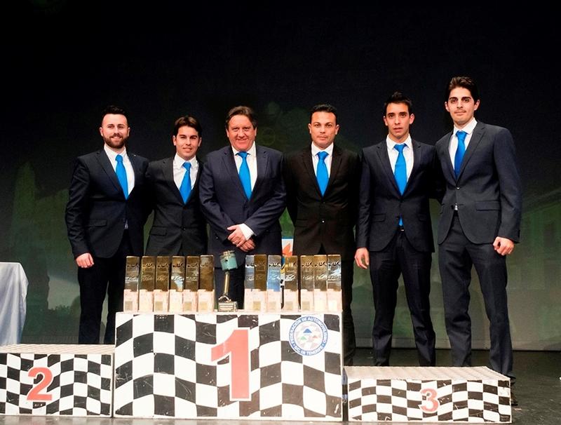 Trofeos equipo Disa Copi Sport