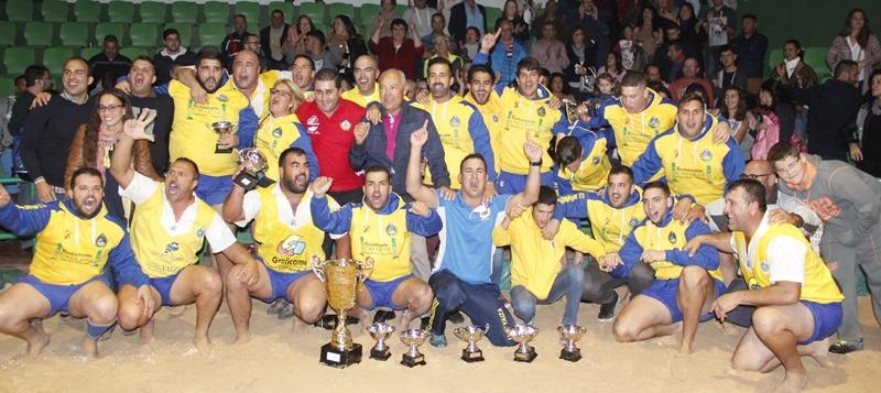 Unión Sur Yaiza Campeón Liga Lanzarote