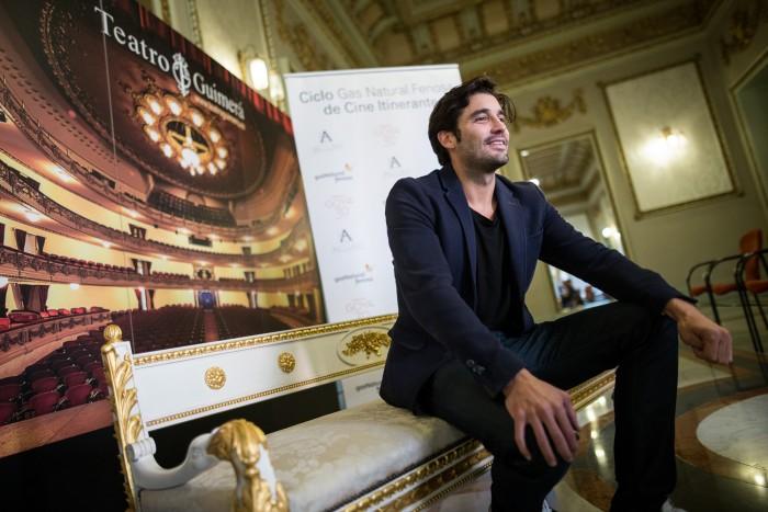 Alex García, este miércoles en el Teatro Guimerá de Santa Cruz. /Andrés Guitérrez