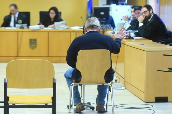 Miguel Reyes, durante su declaración / SERGIO MÉNDEZ